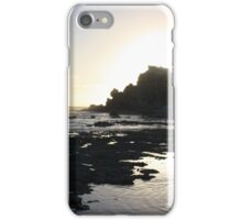 Silver Silhouette iPhone Case/Skin
