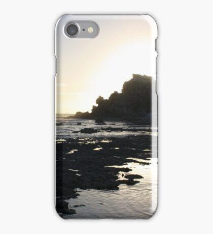 Silver Silhouette iPhone Case/Skin