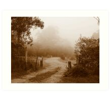 Gates of Grandeur - Ashby, New South Wales Art Print