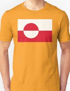 flag of Greenland Unisex T-Shirt