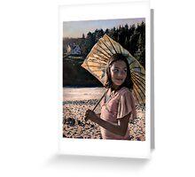 Seaside Stroll Greeting Card