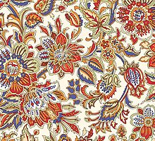 Vintage Abstract Floral Pattern by sale