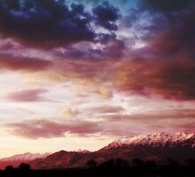 Mount Timpanogos from Provo Airport by Ryan Houston