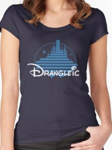 Welcome To Drangleic Women's Fitted Scoop T-Shirt