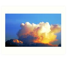 "SKYSCAPE ""WONDERS"" Art Print"