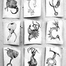 nine butterflies by damiankafe