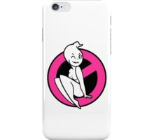 GB-Girl PinUp 1 (Hot Pink) iPhone Case/Skin