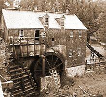 Ye Olde Saw Mill by Martha Medford