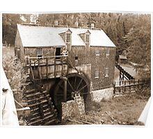Ye Olde Saw Mill Poster