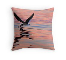 Sunset Skimmer Throw Pillow