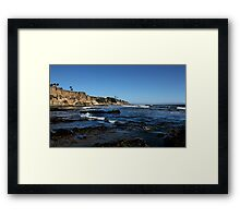 The Cliffs of Pismo Beach Framed Print