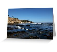 The Cliffs of Pismo Beach Greeting Card
