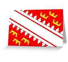 Alsace flag Greeting Card