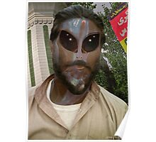 24TH Century Extraterrestrial Colonist in Pakistan Poster