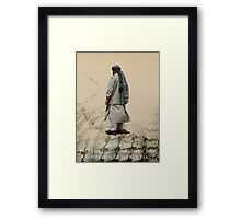 June 6TH 2008 International Kaffiyeh Day Framed Print