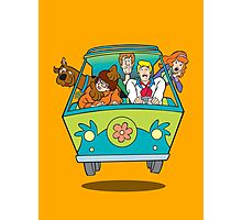 scooby doo Photographic Print
