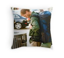 Silent Rejection Throw Pillow