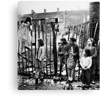 East End Kids Canvas Print