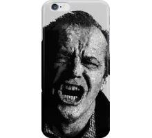 One Flew over Jack Nicholson's Nest - Digital Sketch  iPhone Case/Skin