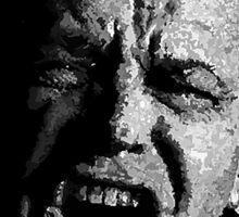 One Flew over Jack Nicholson's Nest - Digital Sketch  Sticker
