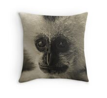 The Solitary Throw Pillow