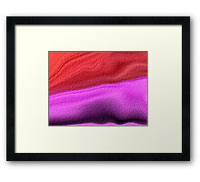 Herb Sand Framed Print