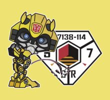 Bumblebee Peeing - Sector 7 v2 One Piece - Short Sleeve