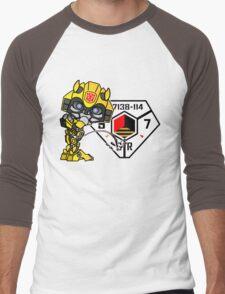 Bumblebee Peeing - Sector 7 v2 Men's Baseball ¾ T-Shirt