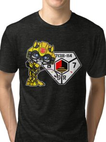 Bumblebee Peeing - Sector 7 v2 Tri-blend T-Shirt