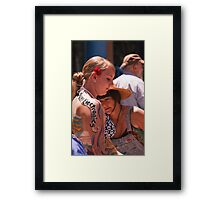The Art and the Artist Framed Print
