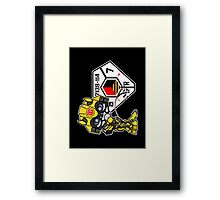 Bumblebee Peeing - Sector 7 v2 Framed Print