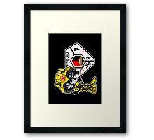 Bumblebee Peeing - Sector 7 v2 Framed Print