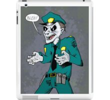 Vampire cop iPad Case/Skin