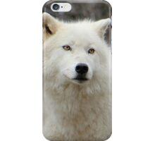 Arctic Wolf Close Up iPhone Case/Skin