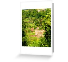 Rievaulx Abbey from the Terrace Greeting Card