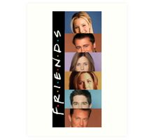 Friends - photos Art Print