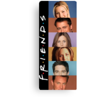 Friends - photos Canvas Print
