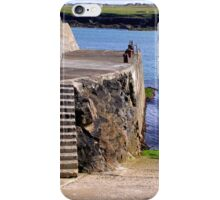 Port Nis Harbour Steps iPhone Case/Skin