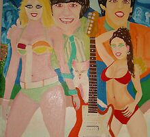 The Beatles & Sisters Australiana 1964 : Romance by Sunil
