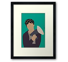 Ezekiel Jones - The Librarians Framed Print