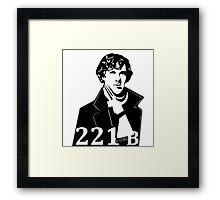 shelock holmes Framed Print