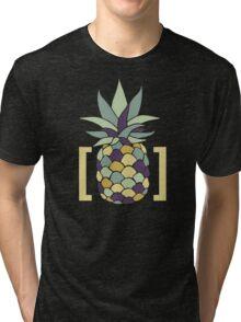 Reddit r/trees Pineapple in Brackets Design Tri-blend T-Shirt