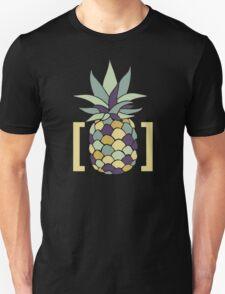 Reddit r/trees Pineapple in Brackets Design Unisex T-Shirt