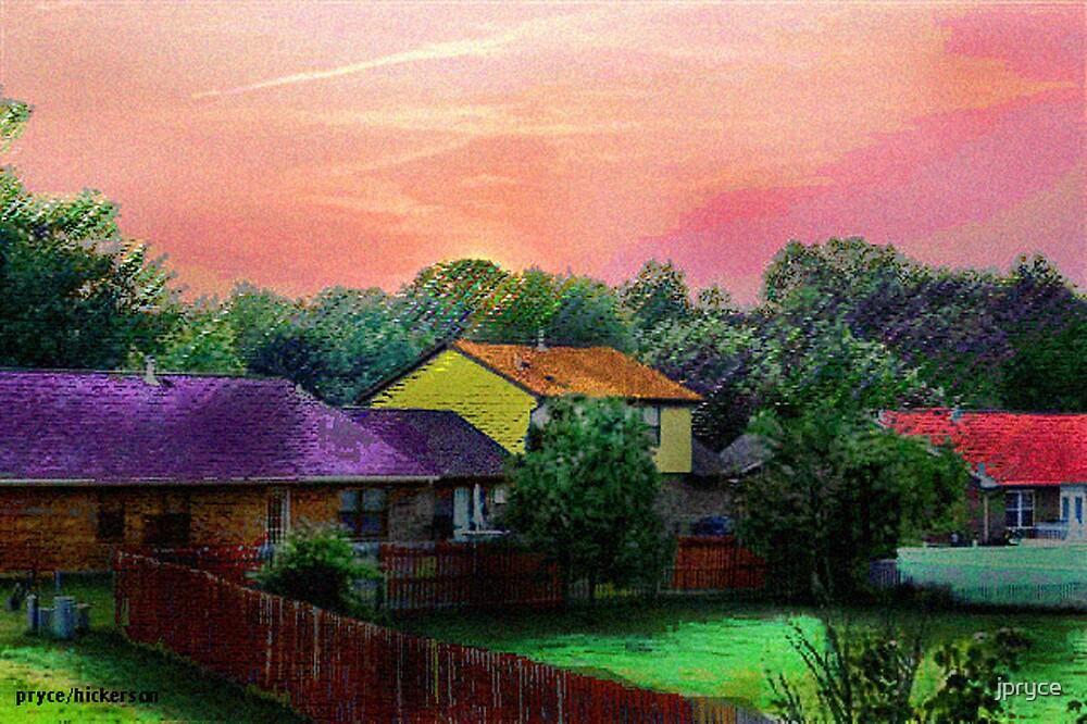 Another Neighborhood Sunset by jpryce