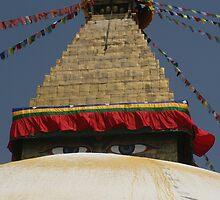 Bouddhanath Stupa by kateabell