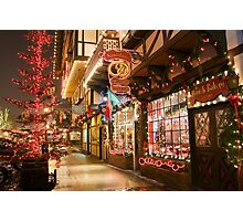 Holiday Window Shopping Photographic Print
