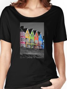 Psychedelic Terrace Women's Relaxed Fit T-Shirt