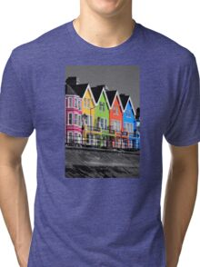 Psychedelic Terrace Tri-blend T-Shirt