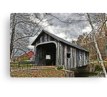 McWilliam Covered Bridge Canvas Print