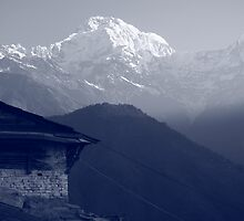 Annapurna view by kateabell